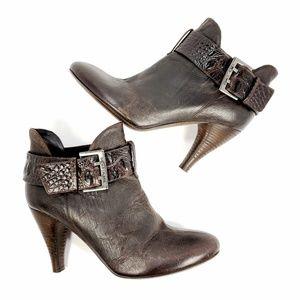 DONALD J PLINER Rian Women Ankle Brown Boots sz8.5